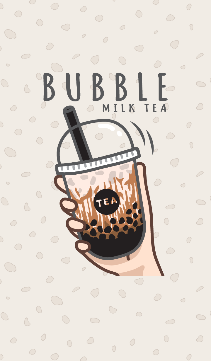 Bubble milk tea cafe 1 (Brown sugar)
