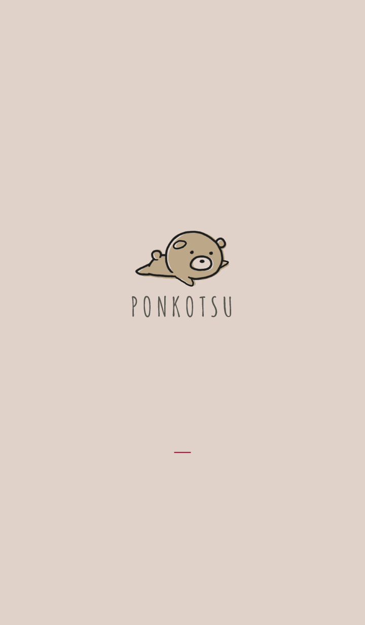 Bordeaux : Bear PONKOTSU 2