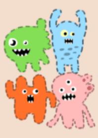 Lots of cute monsters