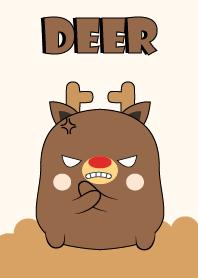 Emotion Angry Deer
