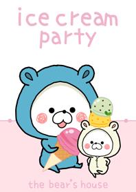 the bear's house - Ice cream -