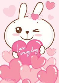 Rabby Rabbit Love everyday