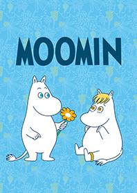 Moomin獻花去