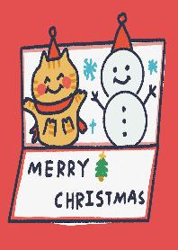 關於我的橘貓生活,豆皮君 聖誕節快樂