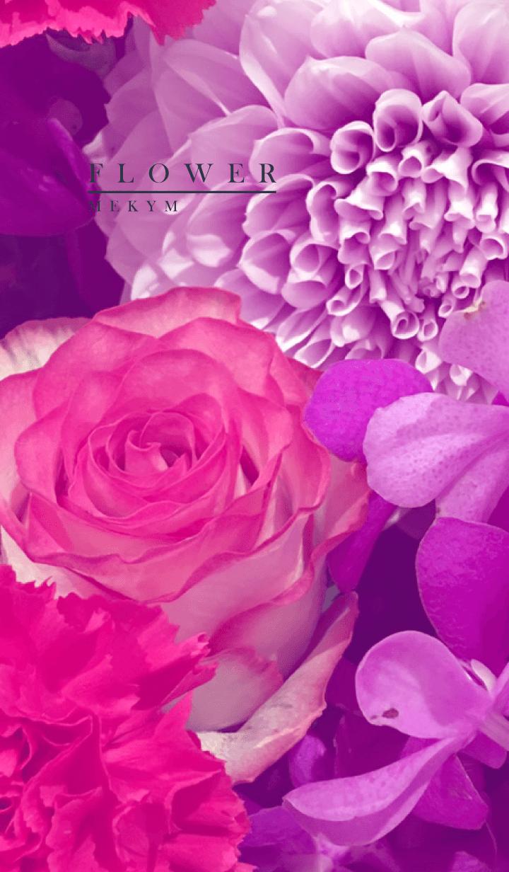 PURPLE FLOWER -MEKYM- 9