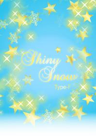 Shiny Snow Type-F Light blue & Gold