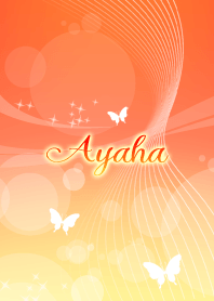 Ayaha butterfly theme