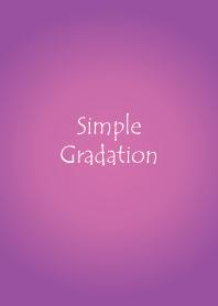 Simple Gradation -PURPLE-