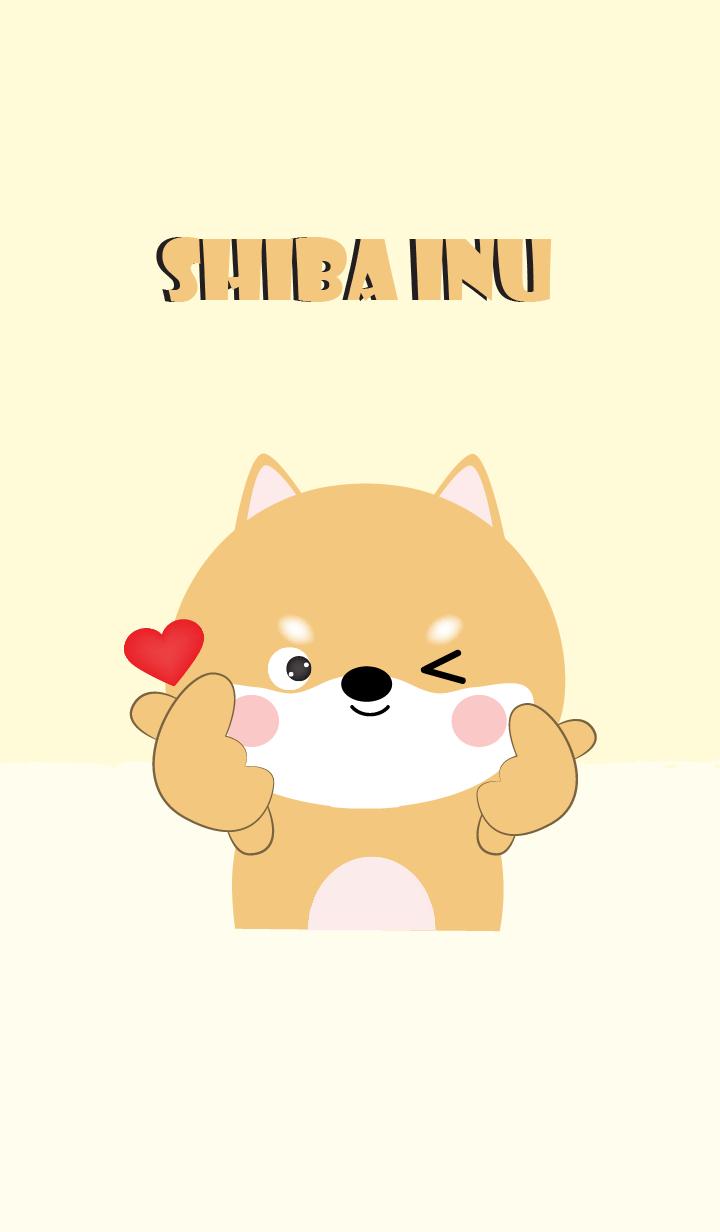 Love Love Cute Shiba Inu theme