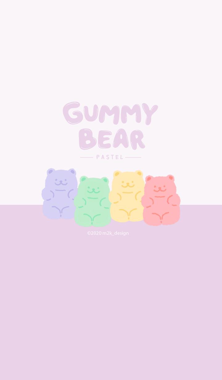 Gummy bear pastel