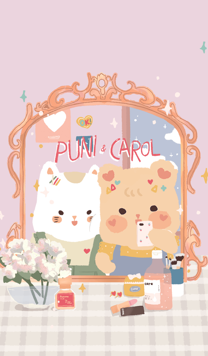 Puni and Carol Cuteness Attack!
