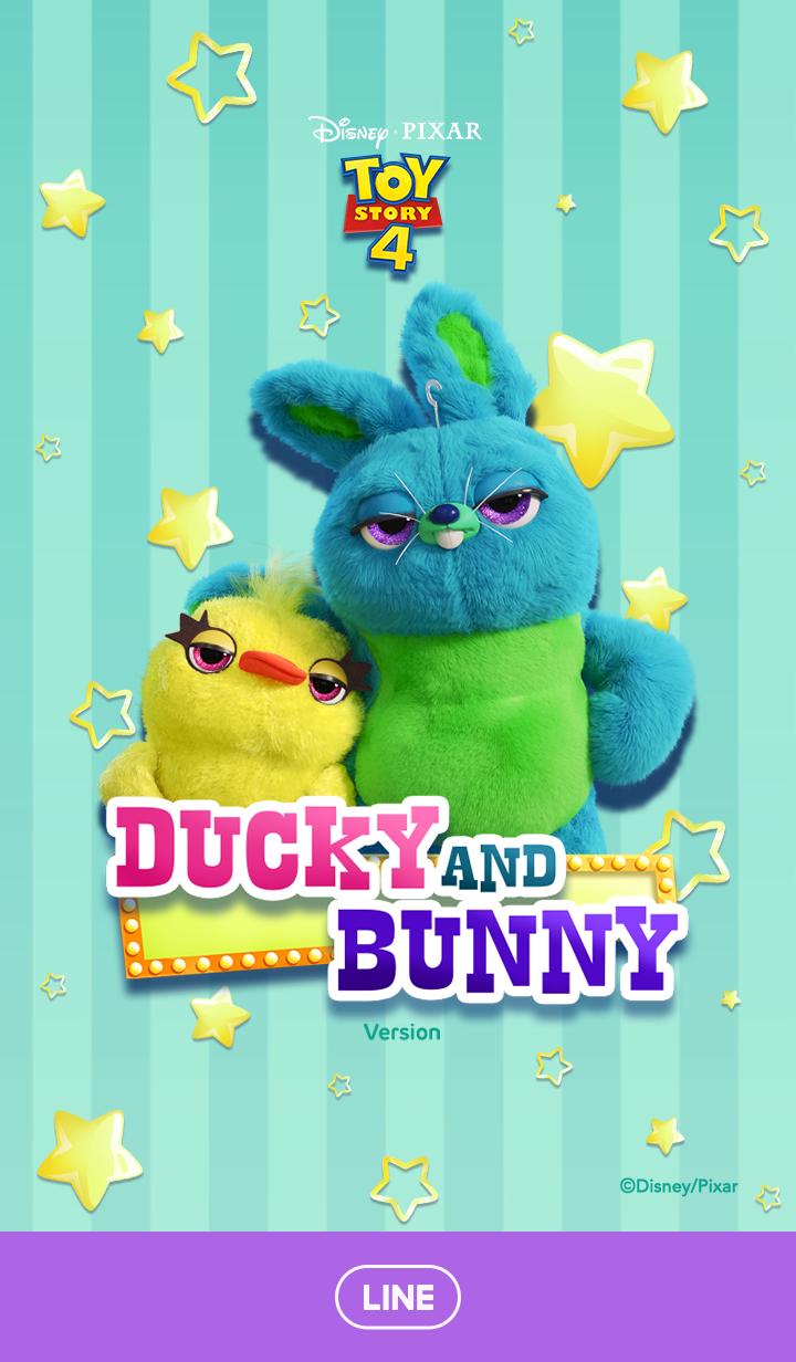 Ducky and Bunny