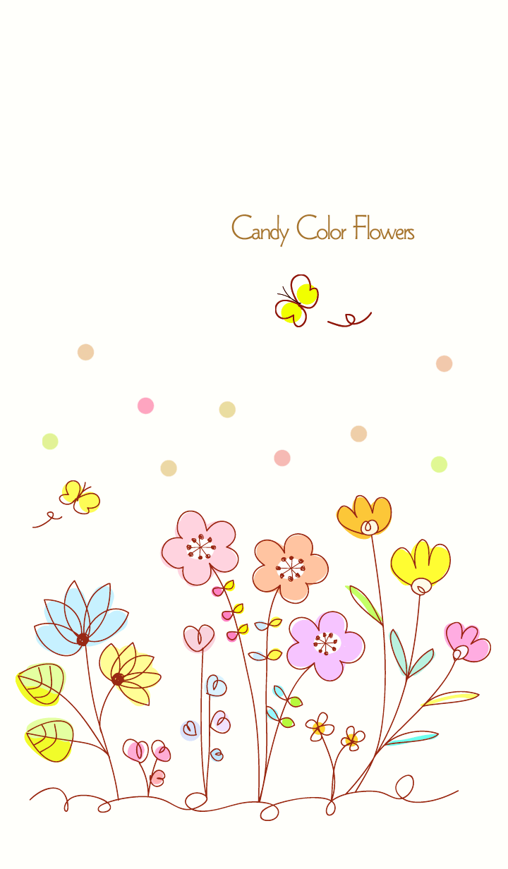 ...Candy color flowers 3