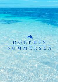 SUMMER SEA 8 -BLUE DOLPHIN-