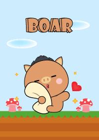Love U Cute Boar Theme (JP)