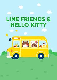 LINE FRIENDS & HELLO KITTY