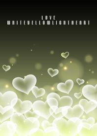 LOVE WHITE YELLOW LIGHT HEART