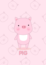 Simple cute Pig theme v.1