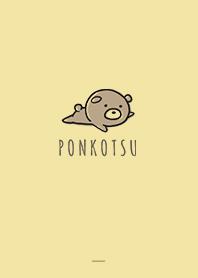 Yellow : Bear PONKOTSU 2
