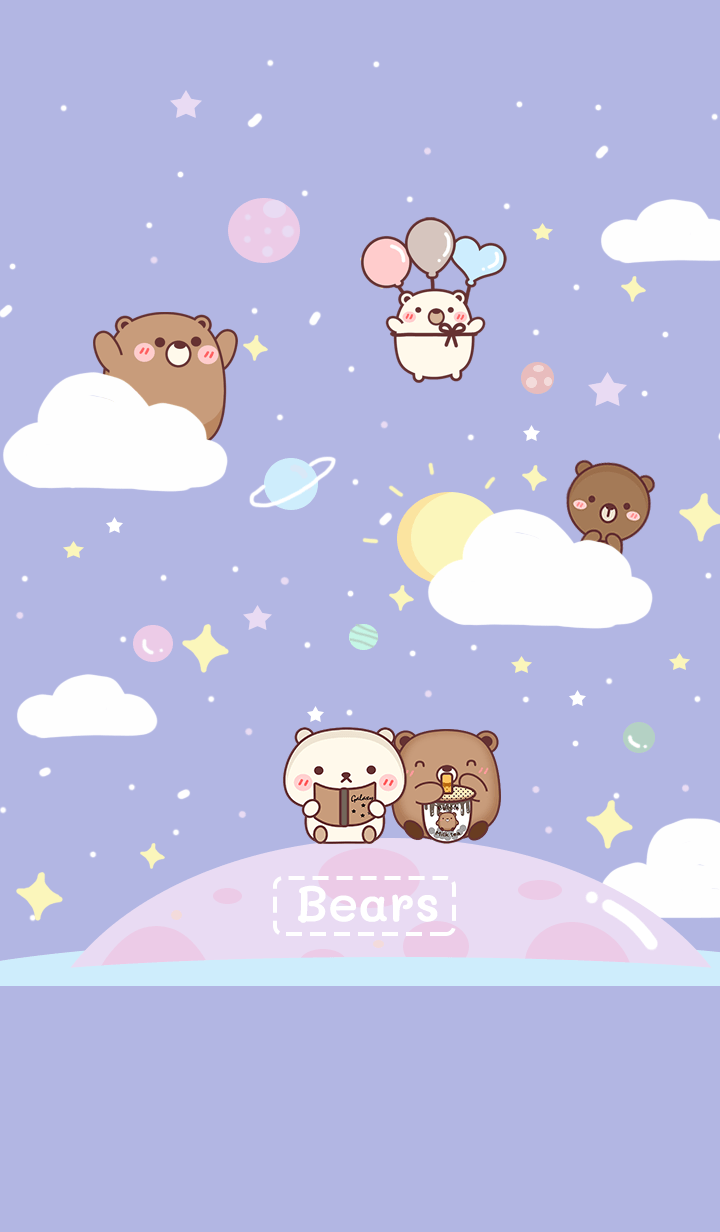 We Bears is happy