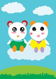 Cute bear Cute bear v