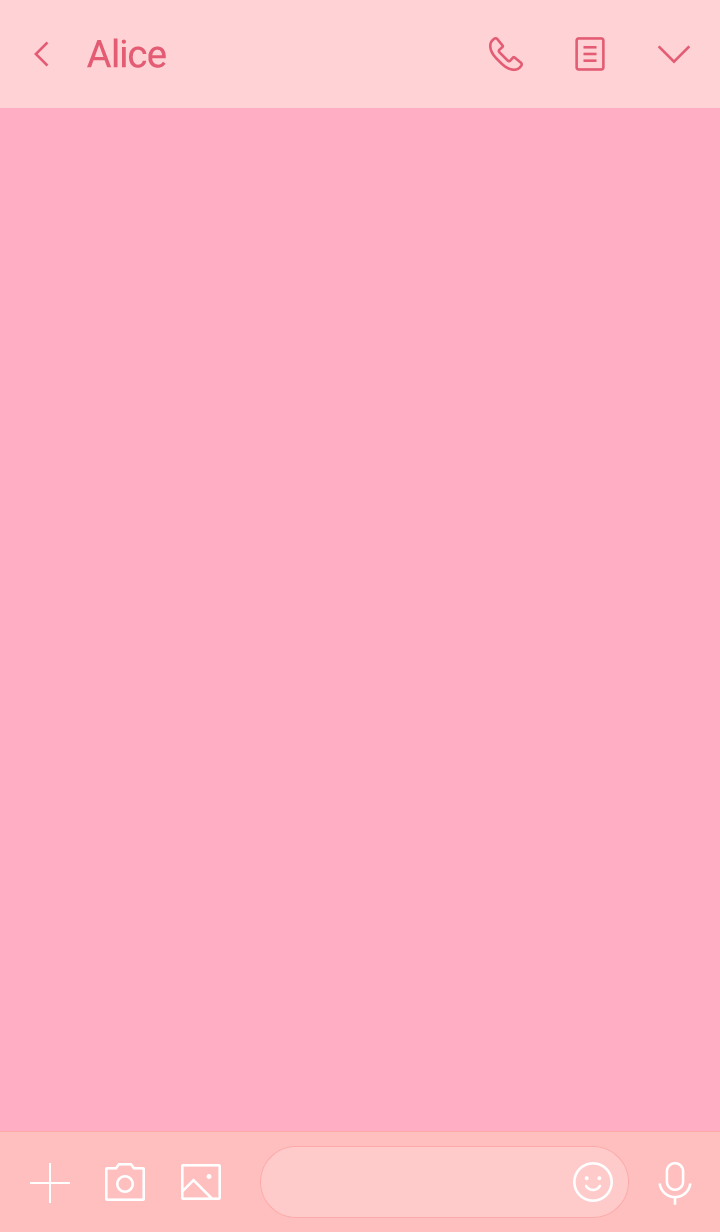 horse simple theme(pink1)