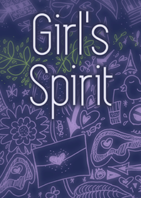 Girl's Spirit Theme (Purple) [w]