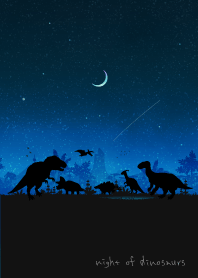 Night of dinosaurs