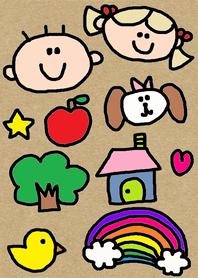 (Cute children x(craft) )