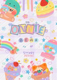 ONNIE BEAR:sweet pastel