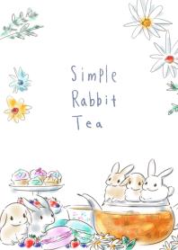 簡單的 兔子 茶