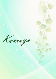 No.383 Komiya Lucky Beautiful green
