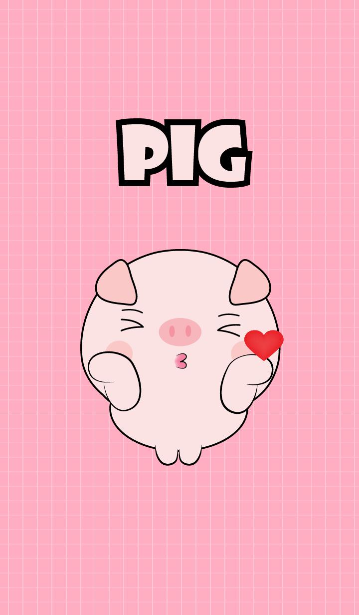 Mini Cute Pig Theme (jp)