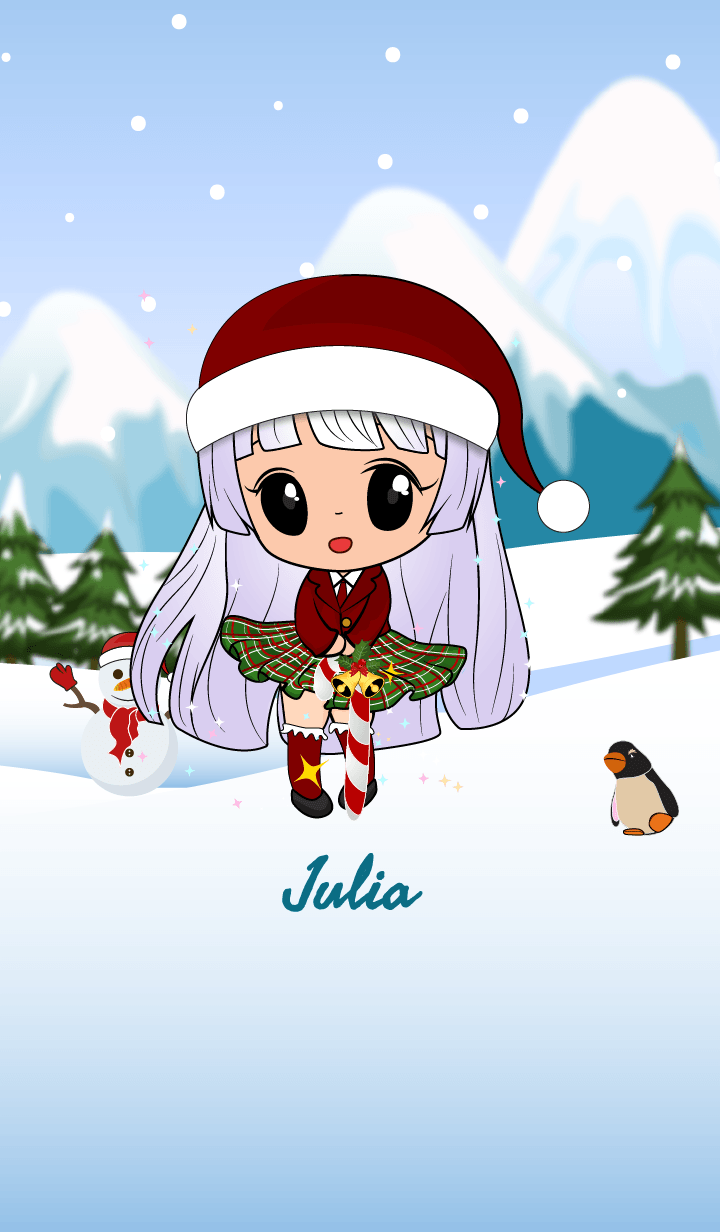 Julia snowy girl