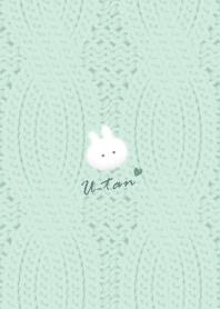 Rabbit and Knit2 bluegreen32_1