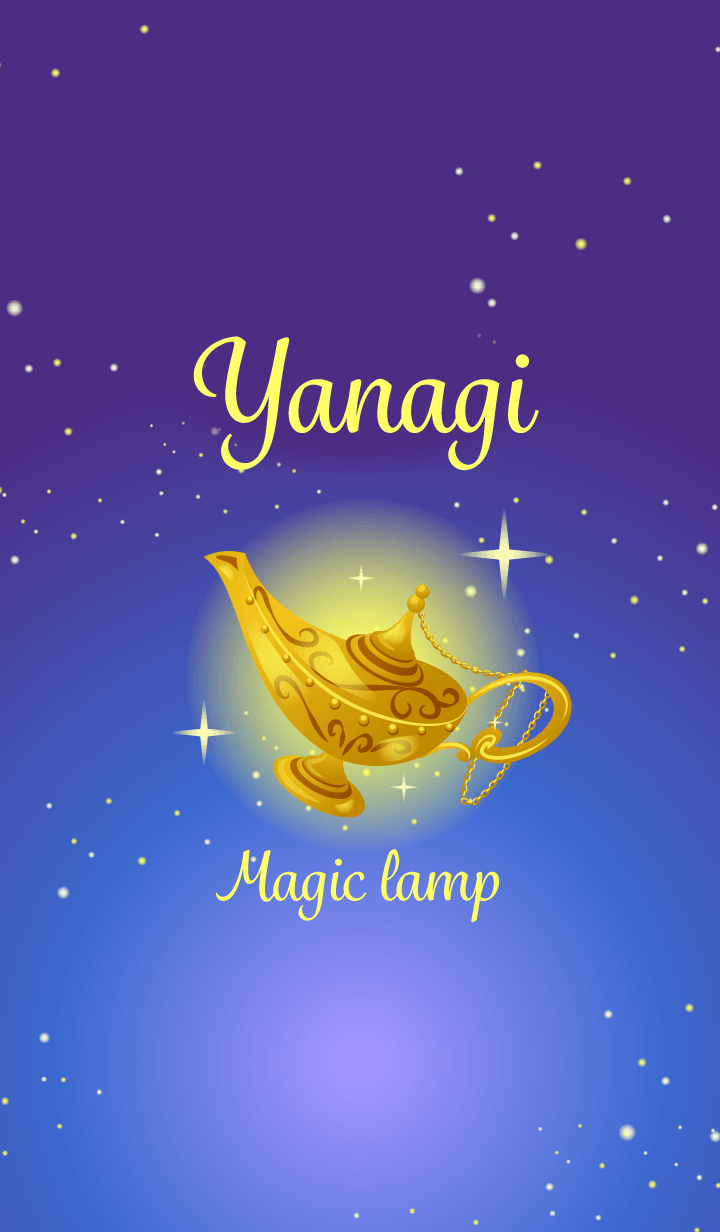 Yanagi-Attract luck-Magiclamp-name