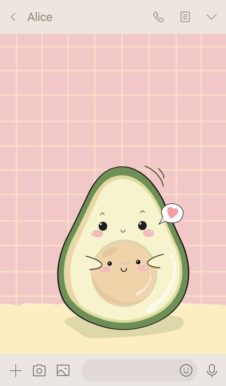 Avocado my love (ver.pink)