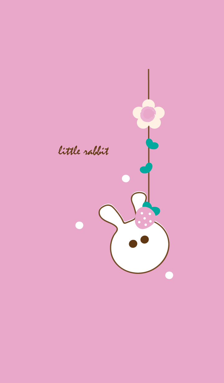 little rabbit with little strawberry 19