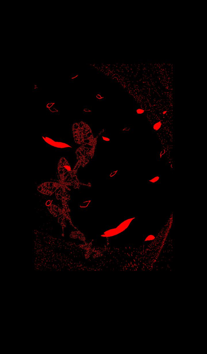 蝶が花びらと舞い踊る着せ替え(VRK_NC)