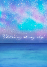 Glittering starry sky from Japan