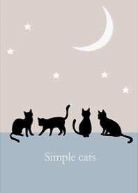 Crescent moon and cat design3.