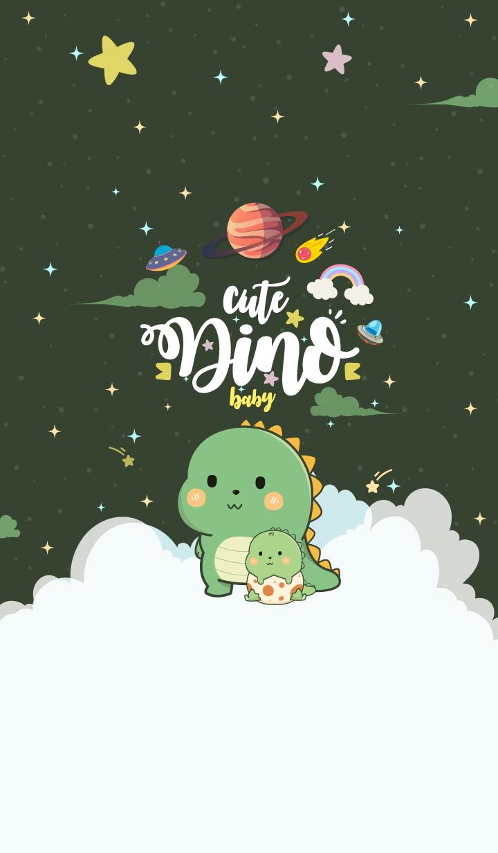Dinosaur Baby Matcha Green Tea