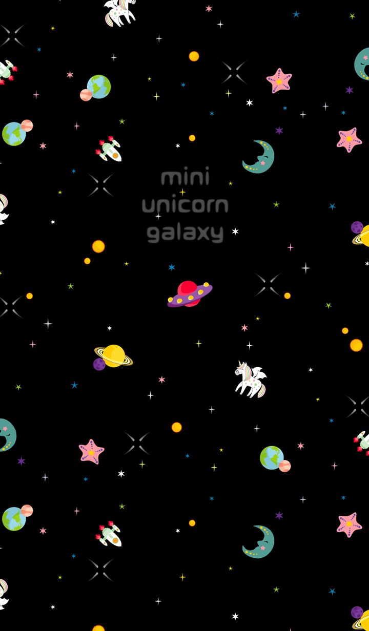 mini unicorn galaxy