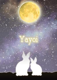 Yayoi Moon & Rabbit