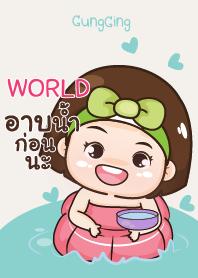 WORLD อุ๊งอิ๊ง เด็กอ้วน V11 e