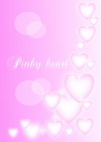 Pinky Pinky hearts.