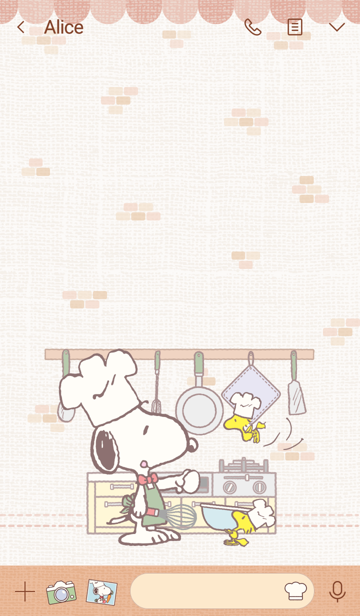 Snoopy Cooking Time
