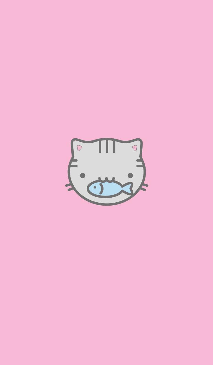 ธีมแมวสีชมพู