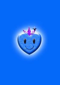 Blue Simple Heart 2