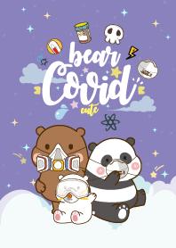 Bear Covid-19 Purple